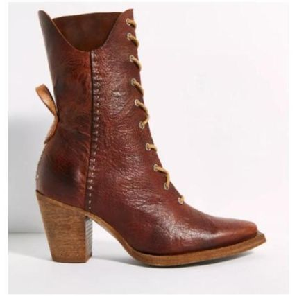 Free People ミドルブーツ 日本発送☆Free People☆Canyon Lace Up Boots レースアップ(4)