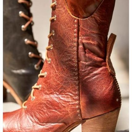 Free People ミドルブーツ 日本発送☆Free People☆Canyon Lace Up Boots レースアップ(5)