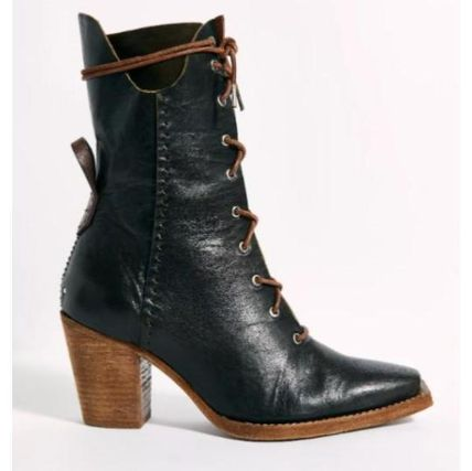 Free People ミドルブーツ 日本発送☆Free People☆Canyon Lace Up Boots レースアップ(7)
