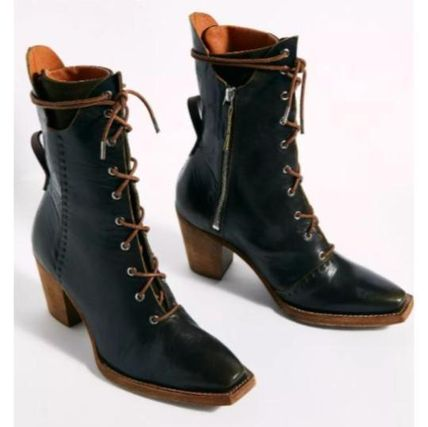 Free People ミドルブーツ 日本発送☆Free People☆Canyon Lace Up Boots レースアップ(8)