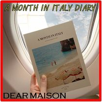 DEAR MAISON☆日付書き込み式ダイアリー A MONTH IN ITALY DIARY