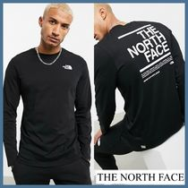 THE NORTH FACE/*Face Message ロゴ 長袖Tシャツ*☆関税送料込み