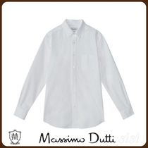 MassimoDutti♪REGULAR FIT COTTON OXFORD SHIRT