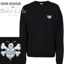 DIOR HOMME  DIOR AND SHAWNコラボ bee-skullロゴトレーナ―