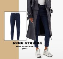 送料関税無料 [Acne Studios] Merck cotton slim jeans