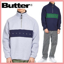 ☆送料関税込☆Butter Goods Logo Hampshire 1/4 Zip Pullover