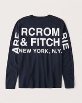 Abercrombie & Fitch(アバクロ) Tシャツ・カットソー 本物保証!アバクロAbercrombie&Fitch長袖Tシャツc002