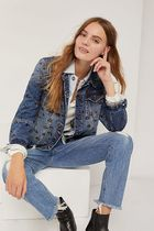 Driftwood ★ Maryah Embroidered Denim Jacket