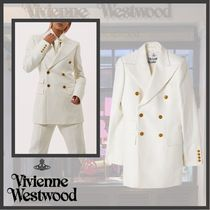 Vivienne Westwood♥DOUBLE-BREASTED JACKET WHITE
