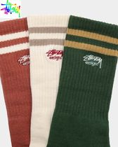 【STUSSY】ソックス3色組Authentic Sport Sock 3 Pack