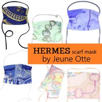 HERMES mask by Jeune Otte【エルメス】スカーフマスク