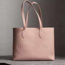 Burberry♪SALE♪ピンクトート★40600981