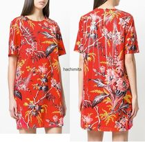 セール☆関税込み☆DVF Floral Print short dress