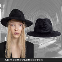 【Ann Demeulemeester】ブラックシャーリングハット