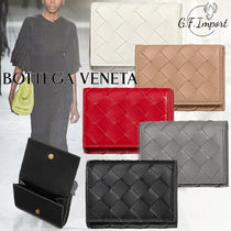 【VIP SALE!!】BOTTEGA VENETA☆INTRECIATO  ミニ折りたたみ財布