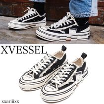 ◆NEW◆XVESSEL◆ G.O.P. Lows black スニーカー