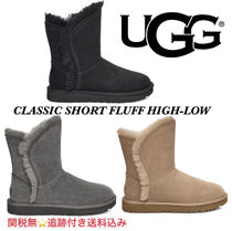 UGG CLASSIC SHORT FLUFF HIGH-LOW BOOT★クラシック ショート