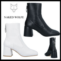 【Naked Wolfe】ショートブーツ ファスナー付き☆全2カラー