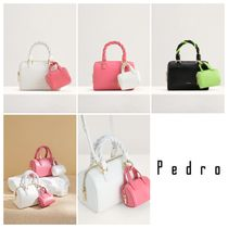 【Pedro】Small Rope-Trimmed Bowling Bag