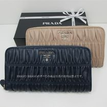 PRADA★VIPセール★NAPPA GAUFRE ZIP AROUND 長財布★即発送♪