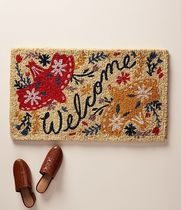 Anthropologie☆関税込み☆Fall Welcome Doormat