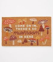 Anthropologie☆関税込み☆Come On In Mushroom Doormat