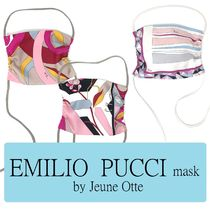 EMILIO PUCCI mask by Jeune Otte【プッチ】スカーフマスク