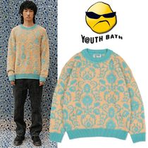 ★YOUTHBATH★PAISLEY SOFT KNITE WEAR_MINT