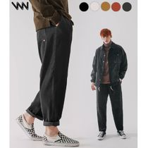 WV PROJECT★Churros corduroy banding Pants CJLP7423 5色
