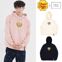 ROMANTIC CROWN★[CHUPA CHUPS X RMTCRW]LOGO HOODIE 3COLOR