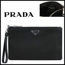 ★PRADA★Strap Pouch Clutch Bag★正規品★