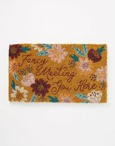 Anthropologie☆関税込み☆Fancy Meeting You Here Doormat