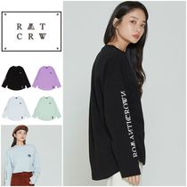 クーポン○◆ROMANTIC CROWN◆RMTCRW LOGO LONG SLEEVE