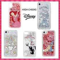 人気☆HIGH CHEEKS☆DisneyGlitter【iPhone各種/Galaxyケース】