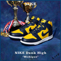 "【NIKE】入手困難 ナイキ NIKE DUNK HIGH ""MICHIGAN"""