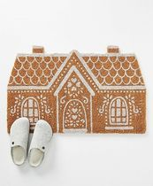 Anthropologie☆関税込み☆Gingerbread House Doormat