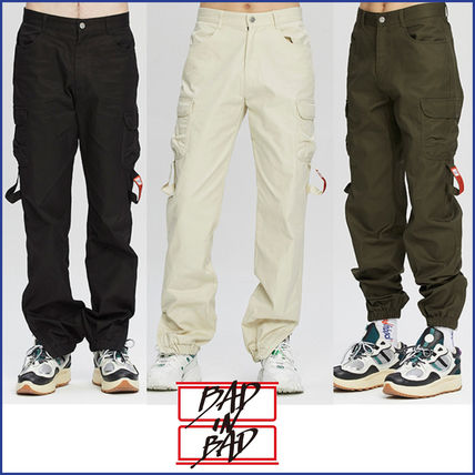 BADINBAD★韓国 ブランド★POCKET COTTON JOGGER PANTS_3色