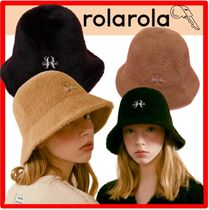 ☆韓国の人気☆【Rolarola】☆FLUFFY BUCKET HA.T 2色