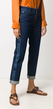 Stella McCartney デニム・ジーパン ◆国内発◆【Stella mccartney】Logo Cropped denim ジーンズ