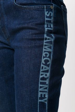 Stella McCartney デニム・ジーパン ◆国内発◆【Stella mccartney】Logo Cropped denim ジーンズ(4)