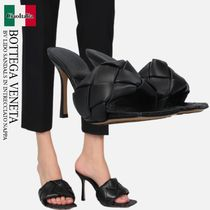 BOTTEGA VENETA BV LIDO SANDALS IN INTRECCIATO NAPPA
