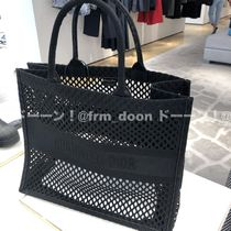 【Dior】20/21AW新作 DIOR BOOK TOTE メッシュ トートバッグ