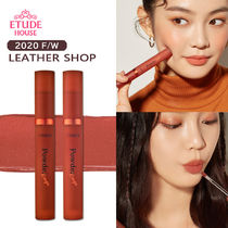 2020FW★[ETUDE HOUSE] パウダールージュティント#Leather Shop