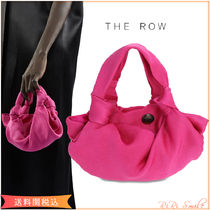 The Row Ascot Two シルク バッグ ピンク