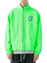 [thisisneverthat] RING Sweat Jacket Neon Green