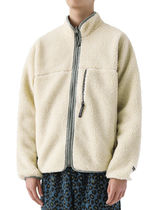 [thisisneverthat] Reversible Boa Fleece Jacket Ivory