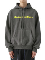 [thisisneverthat] T-Logo Hooded Sweatshirt Charcoal (003)