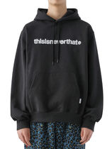 [thisisneverthat] T-Logo Hooded Sweatshirt Black (003)