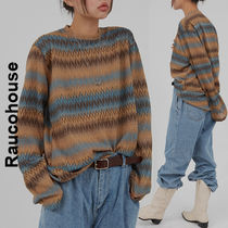 Raucohouse(ラウコハウス)★ Western Color Mix Long Sleeve T