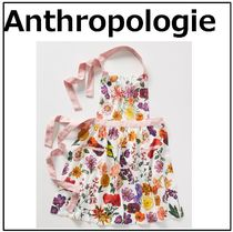 【Anthropologie】☆大人気☆エプロン☆エレガント☆お花柄
